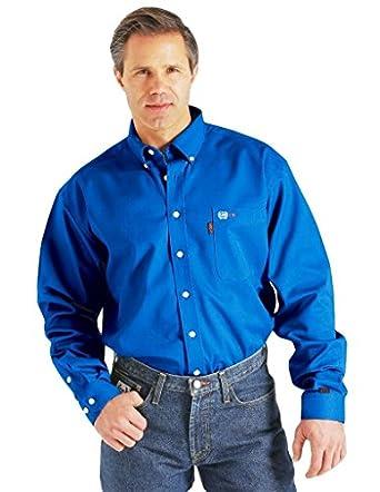 Cinch Men 39 S Flame Resistant Plaid Work Shirt