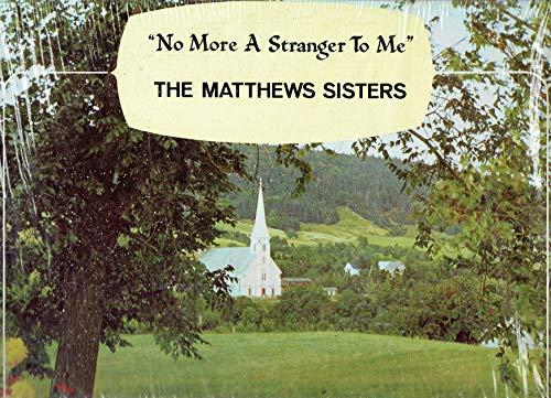 - No More a Stranger to Me - Vinyl LP Record
