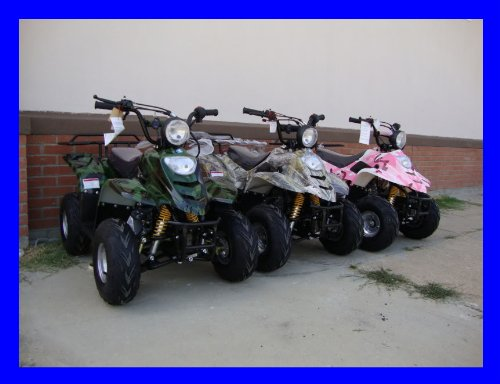 SMART DEALSNOW Brings Brand New 110cc ATV 4 wheeler fully automatic for kids  - New TREE CAMO color by MOUNTOPZ (Image #6)