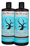 Dr. Woods Unscented Baby Mild Liquid Castile Soap, 32 Ounce (Pack of 2)