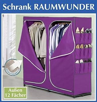 WENKO XXL KLEIDERSCHRANK Textilkleiderschrank Raumwunder 12 ...