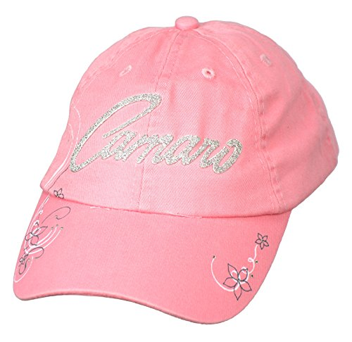 Womens Chevy Camaro Hat - Pink