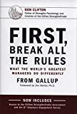 img - for First Break All The Rules book / textbook / text book
