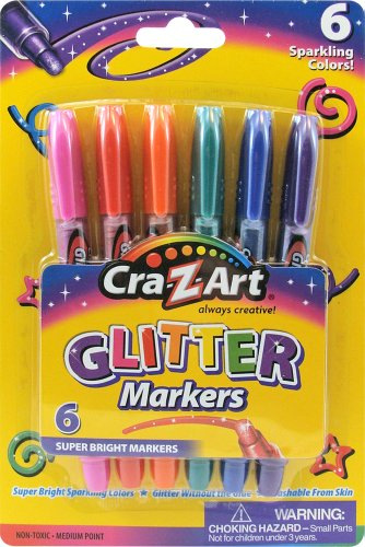 Cra Z Art Glitter Markers Count 10050 product image