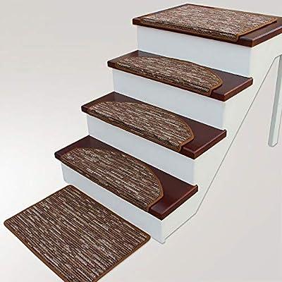 Antideslizantes para escaleras Alfombras De Escalera Silencio Antideslizante Alfombrilla para Peldaños Alfombras De Habitacion TZXSHO (Color : Color C(80x24cm), Size : 1pc): Amazon.es: Hogar