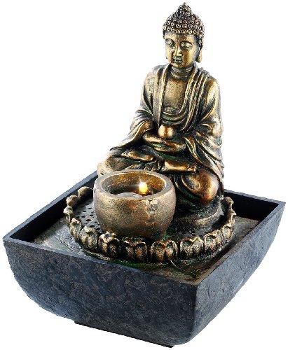 infactory-Beleuchteter-Zimmerbrunnen-mit-Buddha