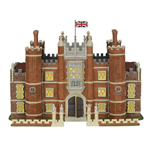 Department 56 Dickens Village Hampton Court Palace Lit Building and Accessories, 8.75