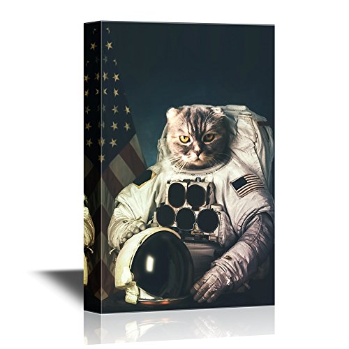 Beautiful Cat Astronaut