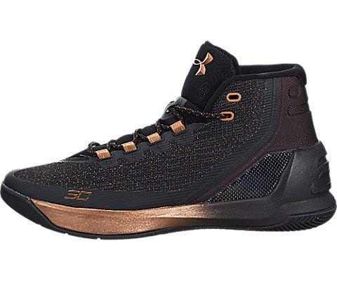 Under Armour Men's Curry 3 ASW Blk/Slv/Cop Basketball Shoe 9.5 Men US