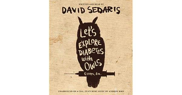 david sedaris libros diabetes