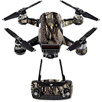 Skin for DJI Spark Mini Drone Combo - Tree Camo| MightySkins Protective, Durable, and Unique Vinyl Decal wrap cover | Easy To Apply, Remove, and Change Styles | Made in the USA