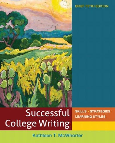 Download Successful College Writing Brief Pdf