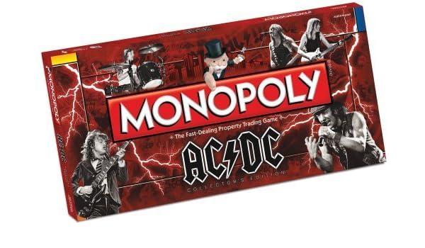 AC/DC Monopoly by Monopoly [Toy] (English Manual): Amazon.es: Juguetes y juegos