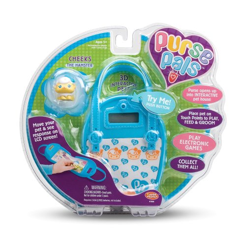 Wild Planet Purse Pals Cheeks the Hamster Wild Planet Purse Pals