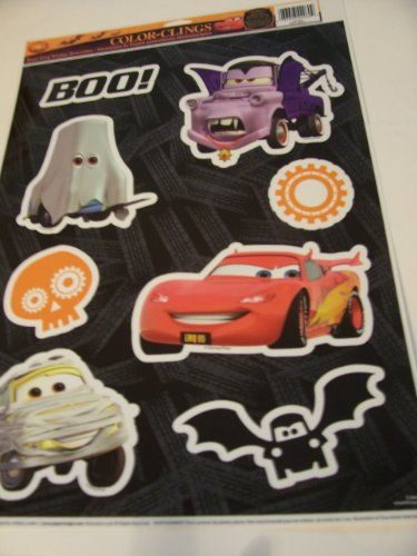 (Disney Cars Halloween Color-Cling Window Cling ~ Boo! (8)