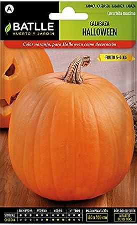 Semillas Hortícolas - Calabaza Halloween - Batlle