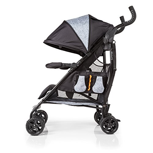 Summer Infant 3Dtote Convenience Stroller, Orange & Heather Gray by Summer Infant (Image #11)