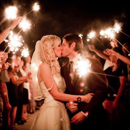 Wedding Sparklers Send Offs