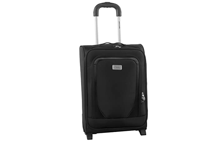 Maleta semirrígida PIERRE CARDIN negro mini equipaje de mano ryanair S264