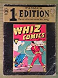 1974 Famous First Ed Reproduction of 1940 WHIZ COMICS 1940 Original HUGE