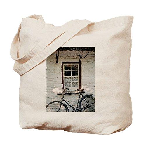 CafePress–irlandés Cottage–Natural gamuza de bolsa de lona bolsa, bolsa de la compra Small caqui