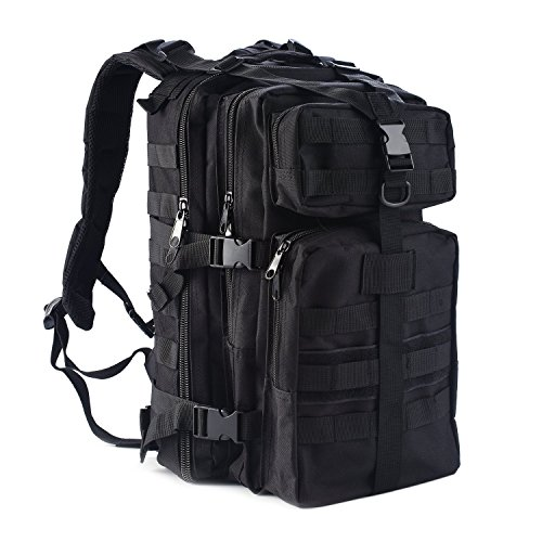 Tactical Backpack,Smartdoo Military Rucksack Assault Pack Molle Waterproof Outdoor Travel Hiking Camping Backpacks
