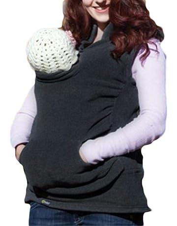 per 2 en 1 Portabebés para Bebés Recién Nacidos para Otoño e Invierno Chalecos Mujer con