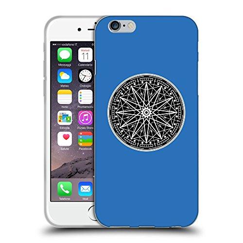 "GoGoMobile Coque de Protection TPU Silicone Case pour // Q08330608 Mystique occulte 12 Azur // Apple iPhone 6 4.7"""