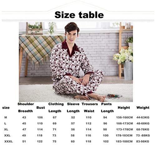 Bouton 2 Classique Dormir Une Un Lannister À Hommes Pyjama Coton Fashion En Red Hulsen Et Chemise Porter Mâle Pantalon Détente Pour Longue q1xSOxn