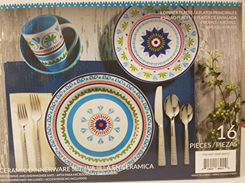Euro Ceramica Marrakesh Piece Dinnerware