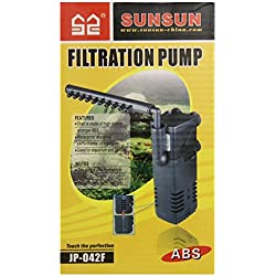 SunSun JUP-43F Submersible Internal Filter Pump, 155-GPH