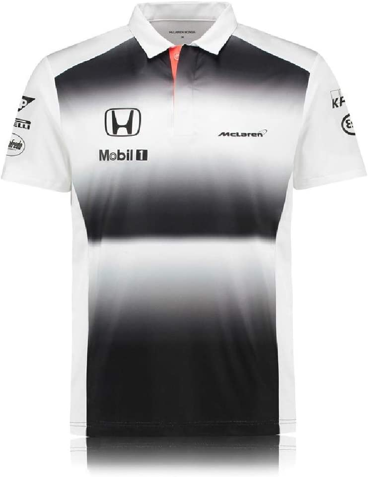 McLaren Honda Team F1 TM2110 - Polo para Hombre, Color Blanco ...