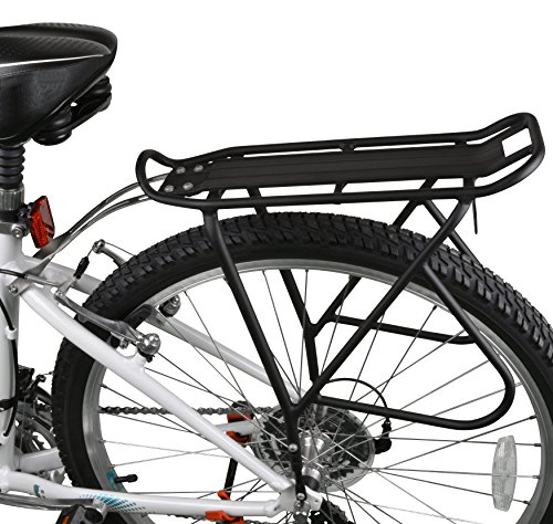 Ibera Bike Rack – Bicycle Touring Carrier with Fender Board, Frame-Mounted for Heavier Top & Side Loads, Height Adjustable for 26''-29'' Frames by Ibera (Image #2)