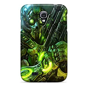 New Style KKFAN Hard Case Cover For Galaxy S4- Terran Ghost