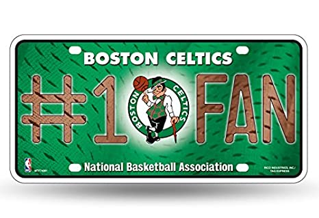 Rico NBA Number One Fan License Plate