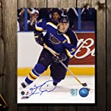 #9: Keith Tkachuk St. Louis Blues RUSH Autographed 8x10