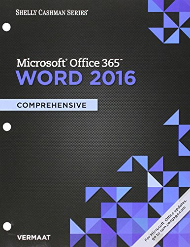 Bundle: Shelly Cashman Series Microsoft Office 365 & Excel 2016: Comprehensive, Loose-leaf Version + Shelly Cashman