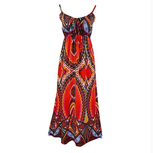 Stil Kleider Ethnischen Beach böhmischen Dress Sommer Sling Shown Rock As pp5UaqBrw