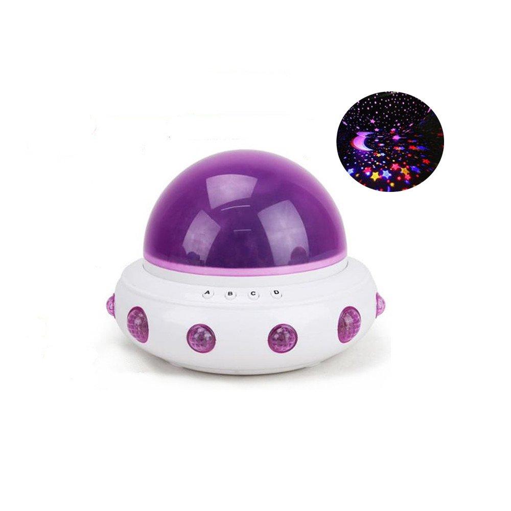 Uni Best Kids UFO Nachtlicht Lampe Projektor, Rotierende Runde ...