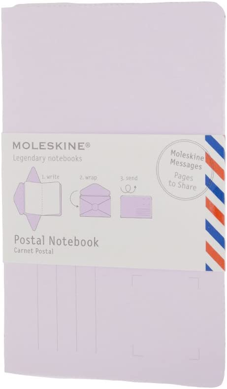 Moleskine Pack de 10 cuadernos envíos bolsillo morado lila pastel ...