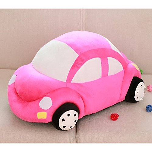 Children's plush toys cars car dolls doll car pillow doll cushions ,Pink,5535cm