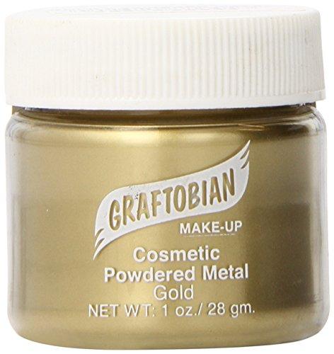 [Graftobian Powdered Metal - Gold (1 oz)] (Gold Body Paint Costume)