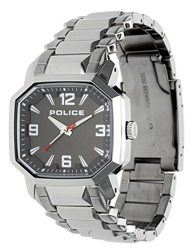 Police Men's PL-13402MS/61M Meduse Stainless Steel Grey Sunray Watch