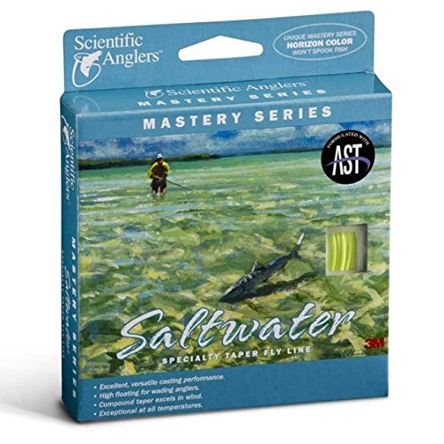 Scientific Anglers Mastery Series Saltwater WF7F Pale Yellow / Horizon Tip