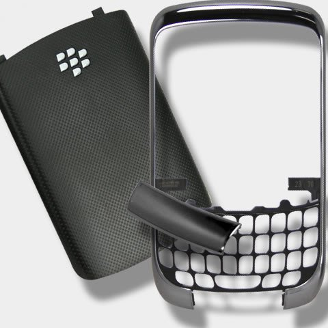 - Original Genuine OEM BlackBerry Curve 3G 9300 Housing Faceplate Fascia Plate Panel Cover Case+Battery Back Door Repair Replace Replacement