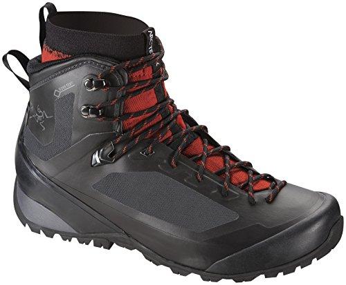 Arc'teryx Bora2 Mid Hiking Boot - Men's Black/Cajun 11.5 by Arc'teryx