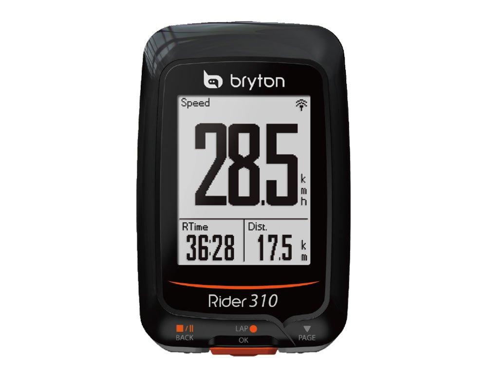 BRYTON(ブライトン) RIDER 310 E (ライダー310E) GPSサイクルコンピューター(単体) TB0F0R310EBLK   B074KXCH14