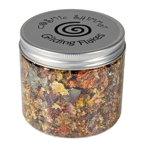 Cosmic Shimmer 200 ml Small Gilding Flakes Gemstones, Pack of 1 by Cosmic Shimmer