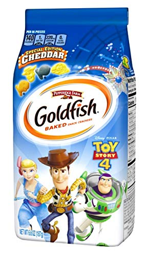 Toy Story 4 Limited Edition Goldfish Crackers - Farmhouse Story