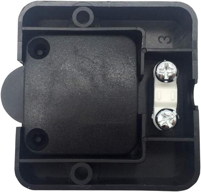 FUJIE 2Pcs Commutateur darmoire Encastrer /à Contact Momentan/é Interrupteur Automatique Placards Interrupteurs de Porte de Meuble Ouvert Quand linterrupteur est Pouss/é